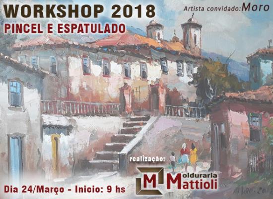 Workshop 2018 Pincel e Espatulado